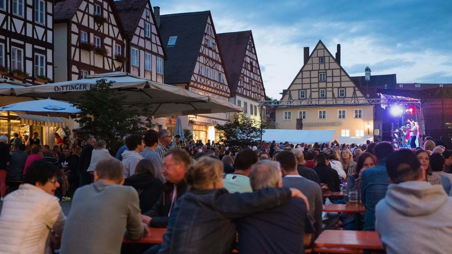Stadtfest Oettingen, Summer in the City