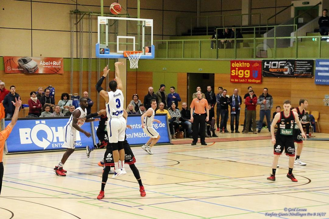 Giants Nördlingen vs. Licher BasketBären 2016