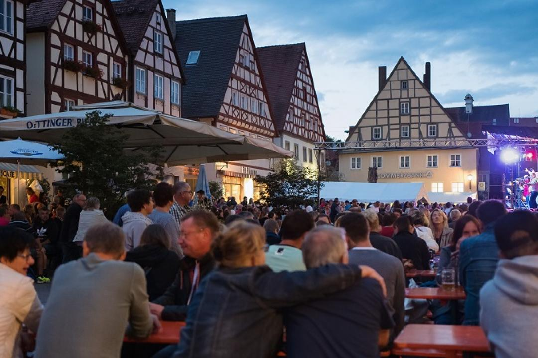 Stadt Oettingen_Summer in the City 2017@Werner Rensing