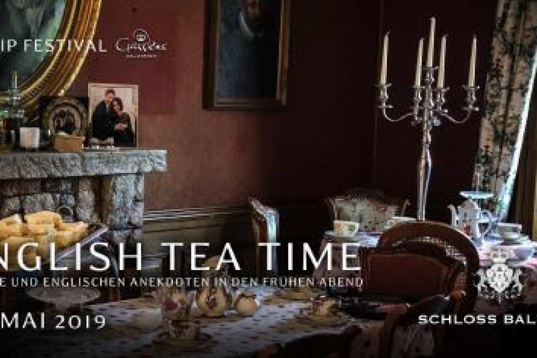 The new English tea time schloss baldern