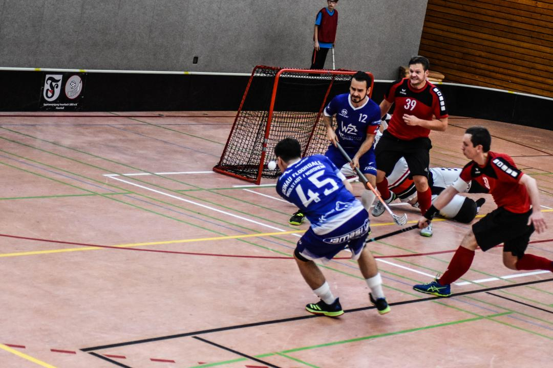 Donau Floorball in blau
