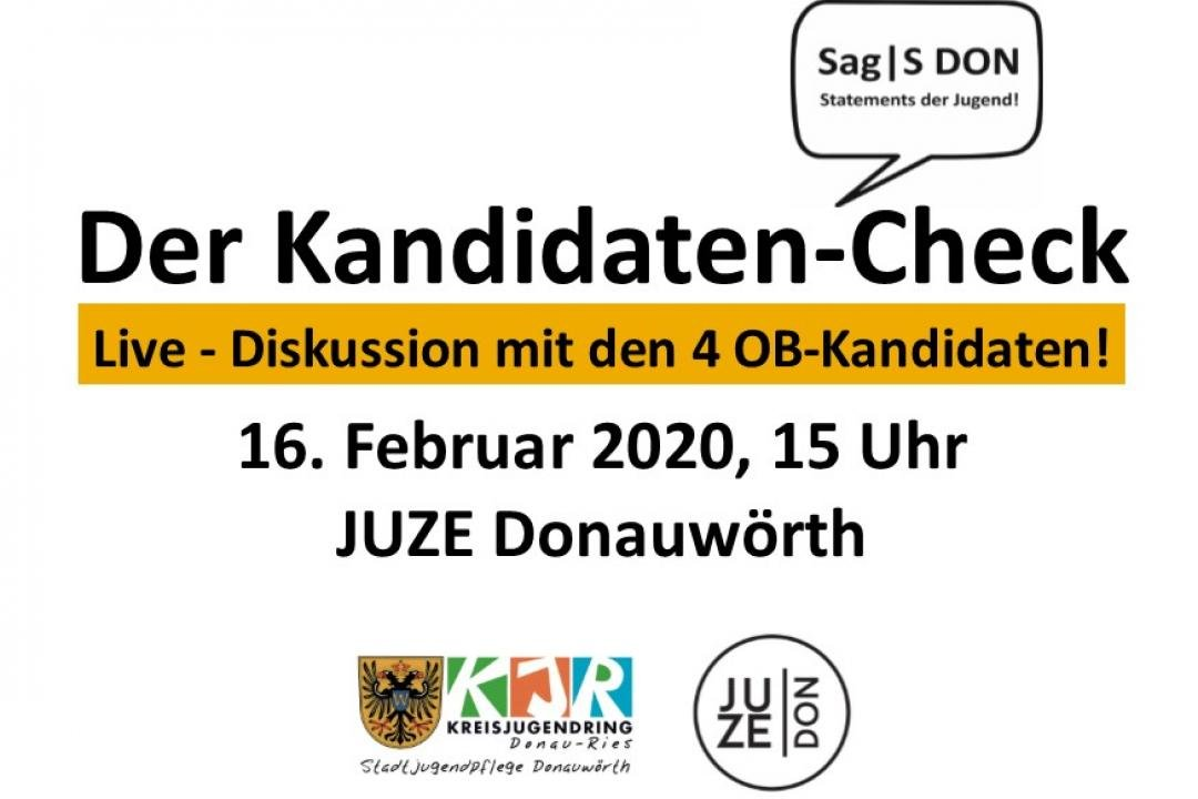 "Flyer ""Der Kandidaten-Check"""