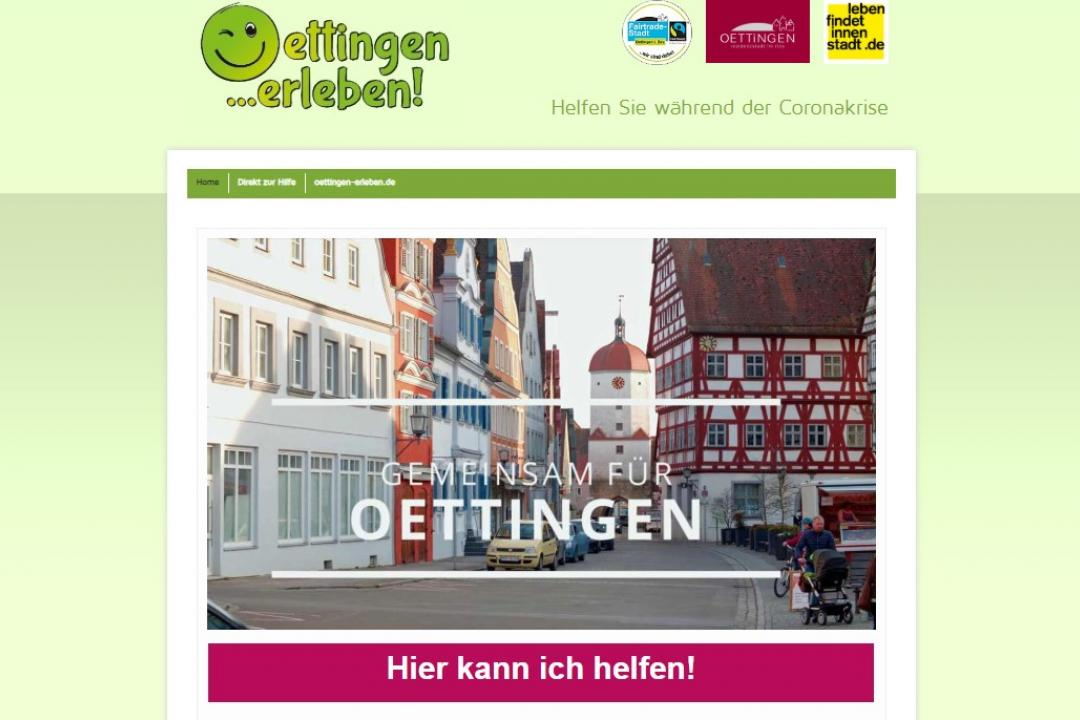 Screenshot: www.oettingen.help